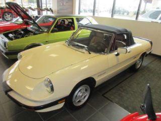 Used Alfa Romeo Spider Veloce In Canfield Ohio - 1988 alfa romeo spider for sale