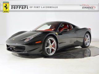 Used 2014 Ferrari 458 Italia In Fort Lauderdale, Florida. Price: $244900