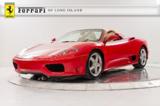 Used 2005 Ferrari 360 Spider in Great Neck, New York