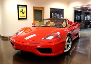 Used 2005 Ferrari 360 Spider in Charlotte, North Carolina