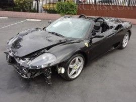 Used 2003 Ferrari 360 Spider in Gardena, California