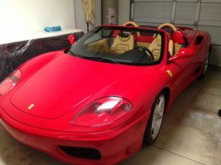Used 2005 Ferrari 360 Spider F1 in Pasadena, California