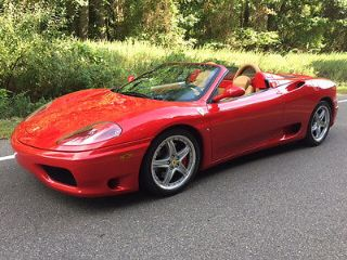Ferrari 360 Spider 2005